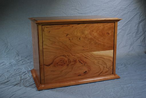 Custom Made American Black Cherry Six Drawer Jewelry Chest #2