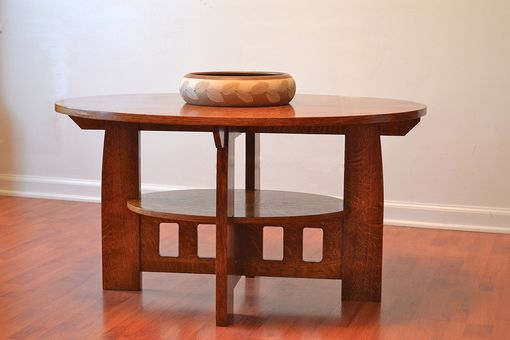 Custom Made Craftsman Style Coffee Table