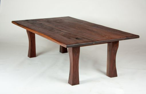 Custom Made Subtle Curve Coffee Table