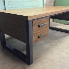 wood office table. office desk by matthew jones wood table o