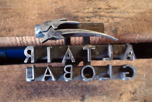 Custom Made Small Logo Branding Irons   The Perfict Size!!