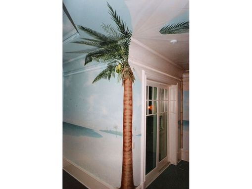 Custom Made Desert Island Tropical Beach Mural By Visionary Mural Co.