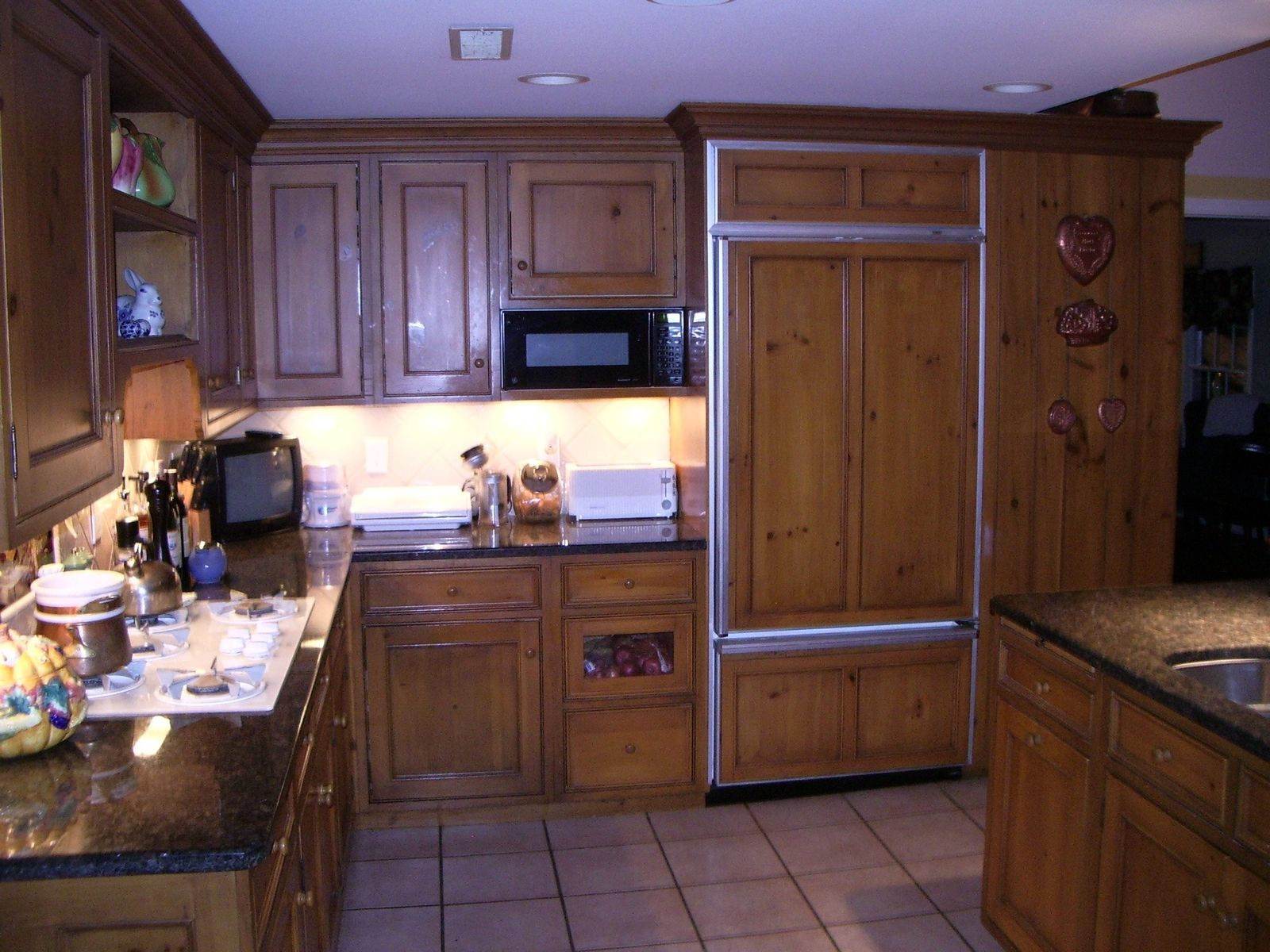 Handmade Knotty Pine Kitchen by Edko Cabinets Llc