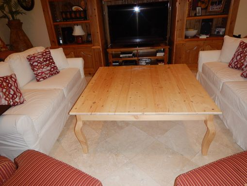 Custom Made Coffee Table On Steriods
