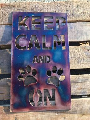 Custom Made Signs For Dog Lovers