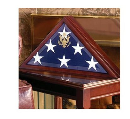 Custom Made Flag Case Display Case To Fit Burial Flag
