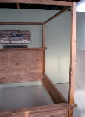 Custom Made Wooden Canopy Bed