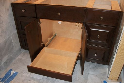 Custom Made Cherry Vanities