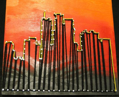 Custom Made Minneapolis Skyline String Art