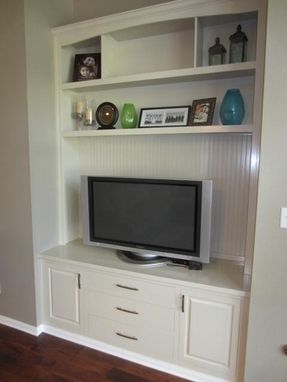 Custom Made Built-In Entertainment Center