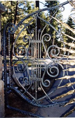 Custom Made Entry Gate To The Sun