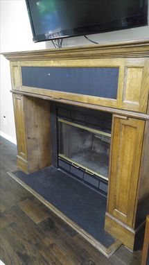 Custom Made Fireplace Storage