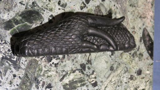 Custom Made Beowulf's Severed Dragon's Head Pipe