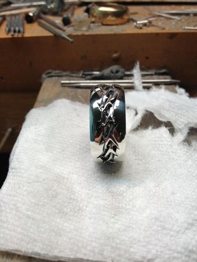 Custom Made Crown Of Thorns Ring