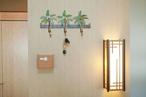 Custom Made Bamboo Sconce
