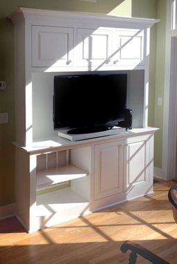 Custom Made Compact Entertainment Center