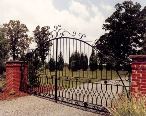 Custom Made Rose Gate