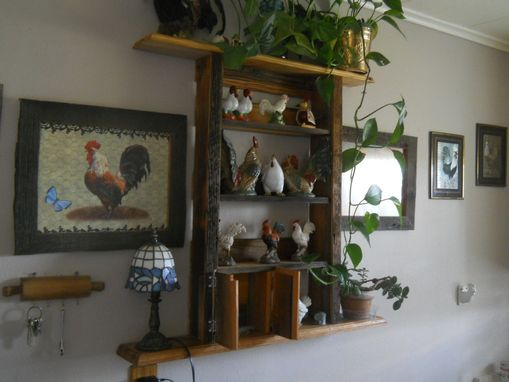 Custom Made Kitchen Frames And Shelf