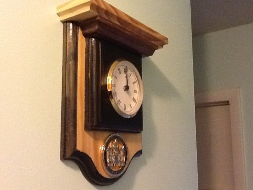 Custom Made Challage Coin Holder/Wall Clock