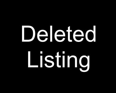 Custom Made Obsolete Listing.