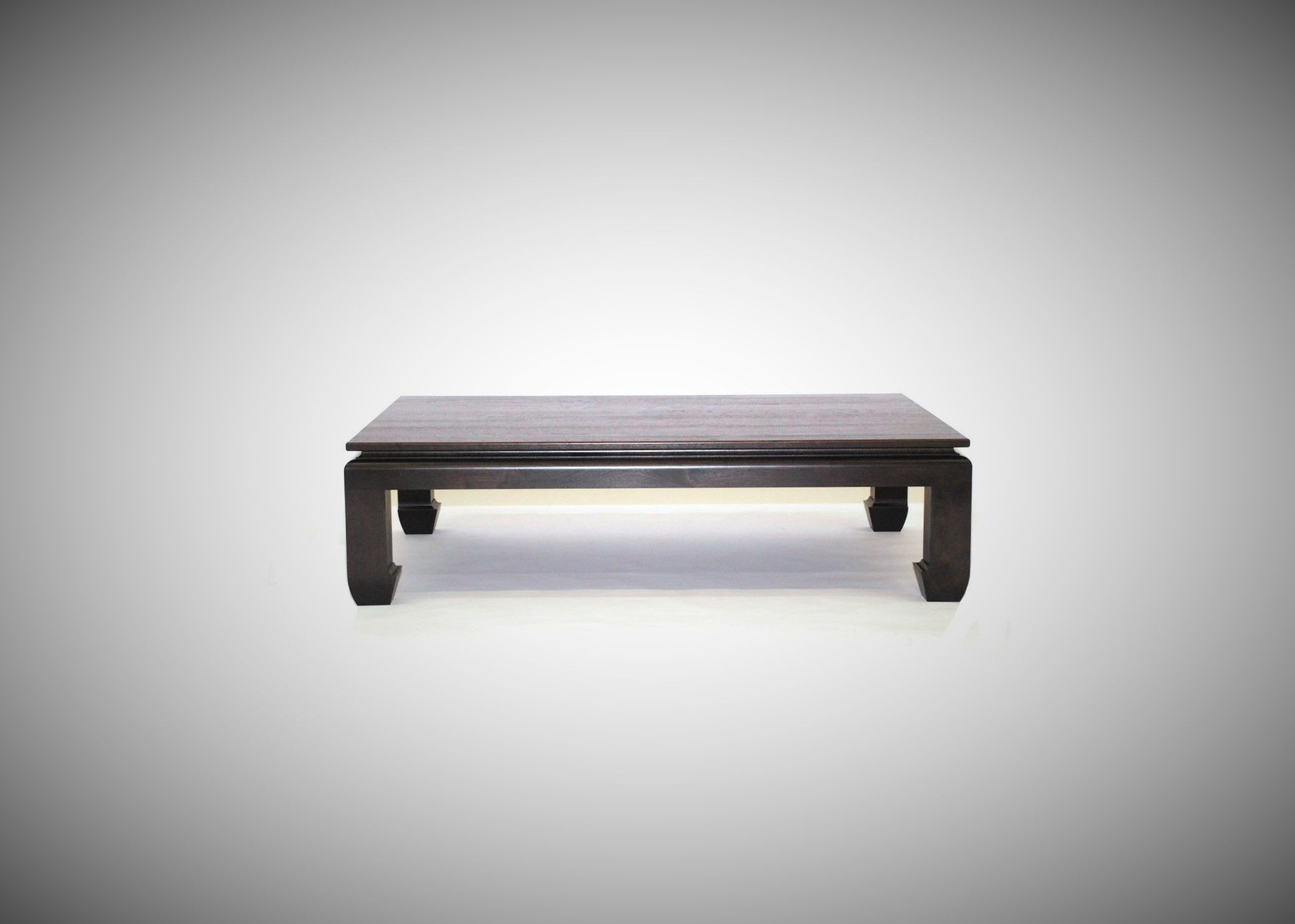 Buy a Handmade Black Walnut Ming Coffee Table Free Shipping