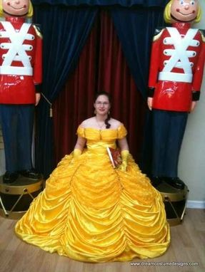 Custom Made Belle Beauty And The Beast Adult Costume Gown (C)