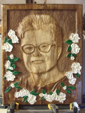 Custom Made Mother-In-Law Relief Carving