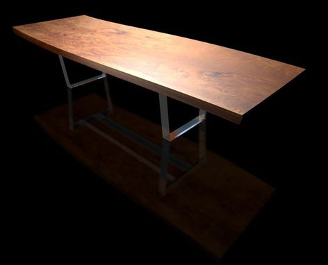 Custom Made Modern Slab Dining Table