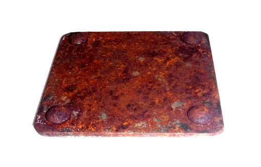 Custom Made Rustic Industrial Steel Coaster Set By Rustic Furniture Hut