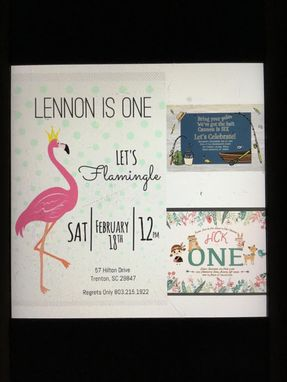 Custom Made Invitations, Cards, Stationary, Graphic Design