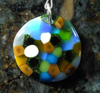 Custom Made Fused Glass Pendants