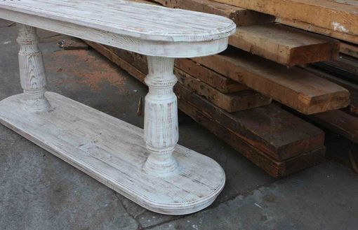 Custom Made Del Mar Serving Table /Sofa Console