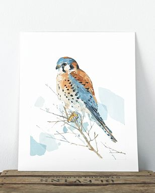Custom Made 8x10 Bird Watercolor Painting