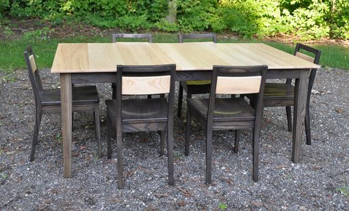Custom Made Solid Ash Eight (8) Piece Dining Set