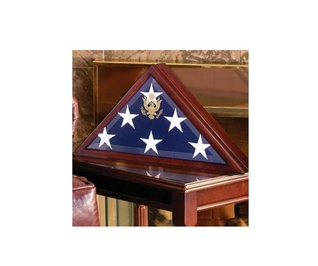 Custom Made Folded Flag Display Case