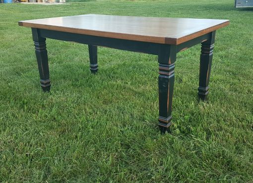 Custom Made Solid Wood Farm Table