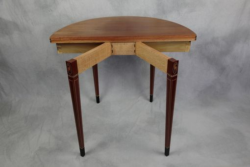 Custom Made Federal Style Card Table
