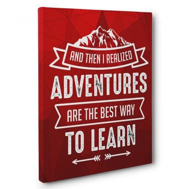 Custom Made Adventure Are The Best Way To Learn Canvas Wall Art