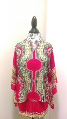 Custom Made African Print Tops