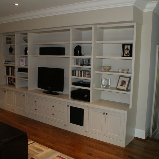 Custom Made Built In Audio Video Wall Unit By Wiggers Furniture Ltd