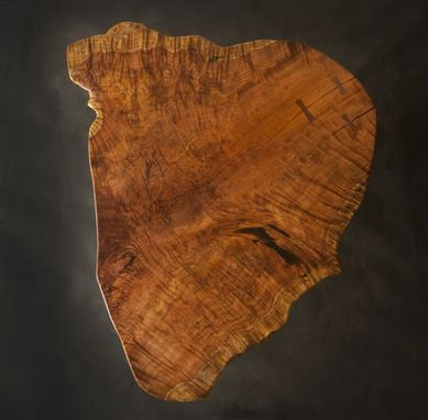 Custom Made Redwood Burl Table