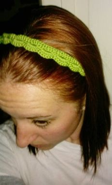 Custom Made Crocheted Headband, Adjustable Length, Pain Free, Perfect For Migraine Sufferers