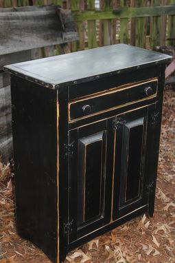 Custom Made Primitive Floor Cupboard
