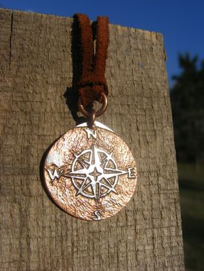 Custom Made Compass Rose Necklace