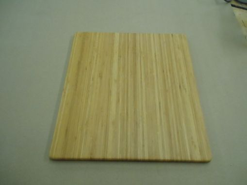 "Custom Made 18""X20""X3/4"" Bamboo Cutting Board"