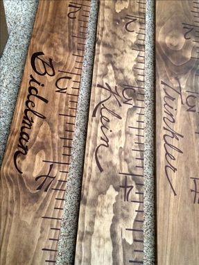 Custom Made Custom Wall Ruler Growth Chart