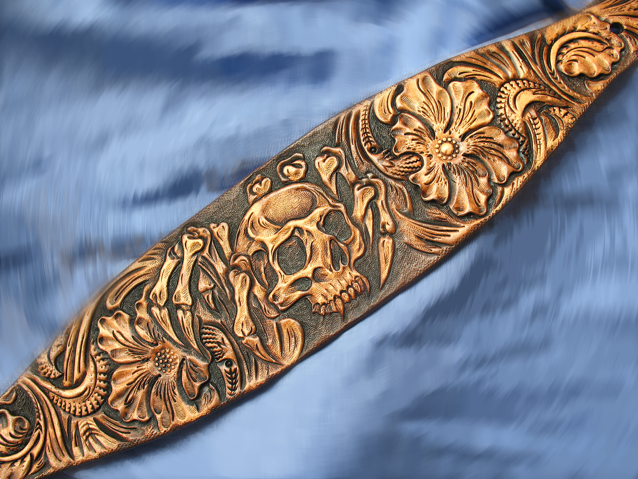 Buy a custom hand tooled carved sheridan western