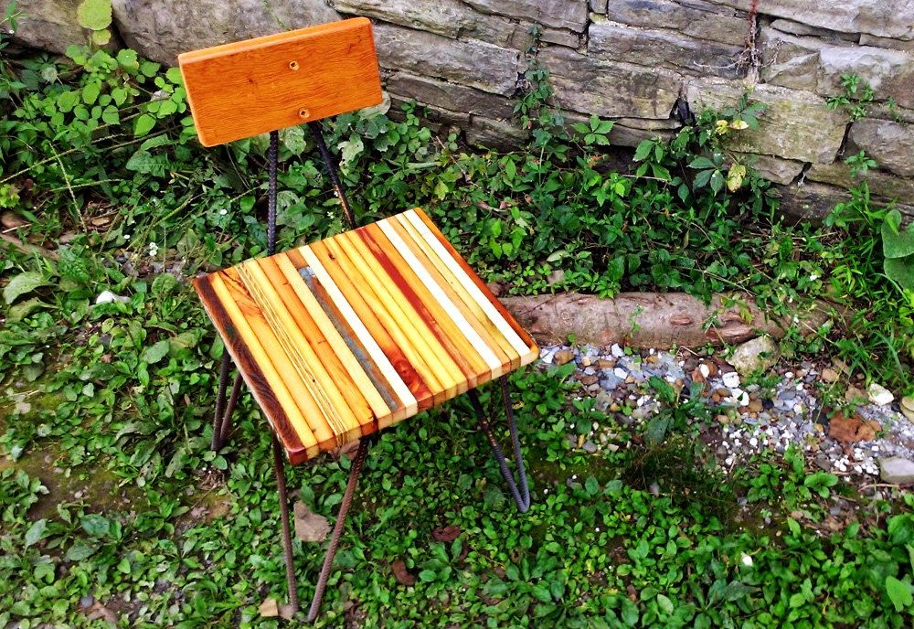 Buy A Hand Crafted Funky Industrial Dining Chairs With