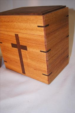 Custom Made Urns With Christian Symbol