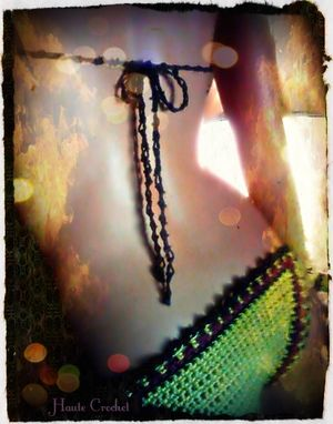 Custom Made Tribal Sun Worshiper Crochet Bikini